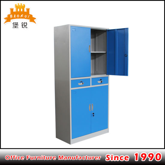 China Custom Size Steel File Cabinet Metal Storage Cupboard With