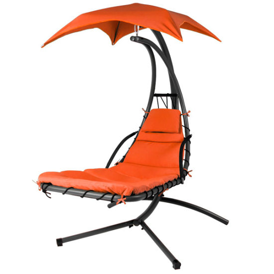 China Hanging Chaise Lounger Porch Swing Chair