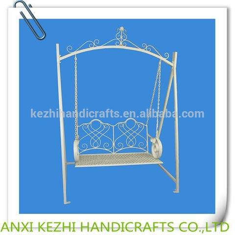 KZ150034 metal garden swing chair pictures & photos