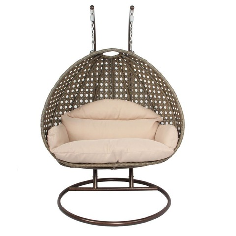 Rattan Garden Furniture Outdoor Hanging Porch Patio Swing Chair
