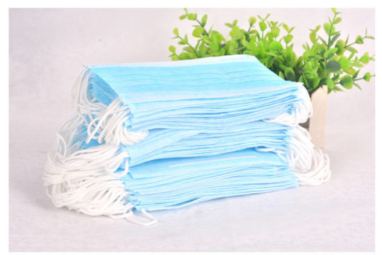 China Ce Approved Disposable 3ply Non-Woven Medical Surgical Protection Anti Virus Mask