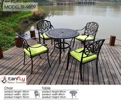 outdoor furniture cast aluminum used patio furniture