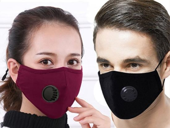 China in Stock with Fast Delivery Pm2.5 Cotton Breathing Valve Masks Dustproof Anti Fog Pluggable Fi pictures & photos