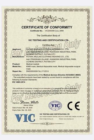 Caighdeán Deimhniúcháin CE FDA Cosanta Pearsanta 5 Masc Ply KN95 Dust Masc Aghaidh KN95 Masc Disposabl pictiúir & grianghraif