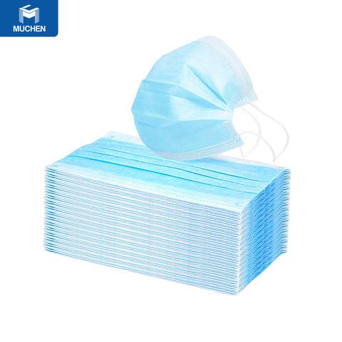 50pcs 3 Sraith Sraitheanna Coronaviruses Dust Masc Aghaidh um Chosaint Indiúscartha