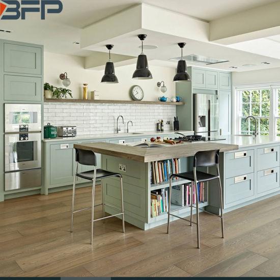 China London Beautiful Kitchen Shaker Style Cabinets Custom Made