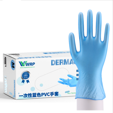 Professional Manufacture 100pcs Disposable PVC Gloves