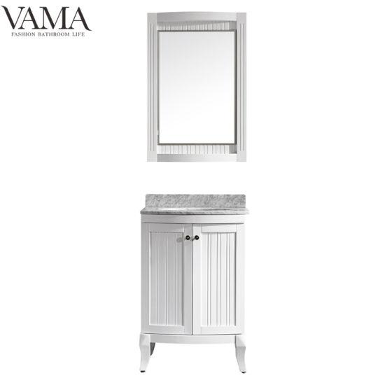 China Vama 24 Inch Ready Made Waterproof Bathroom Cabinet Bathroom