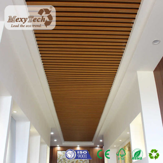 China Hotel Residential Fireproof Easy Install Interior Composite Office PVC Ceiling