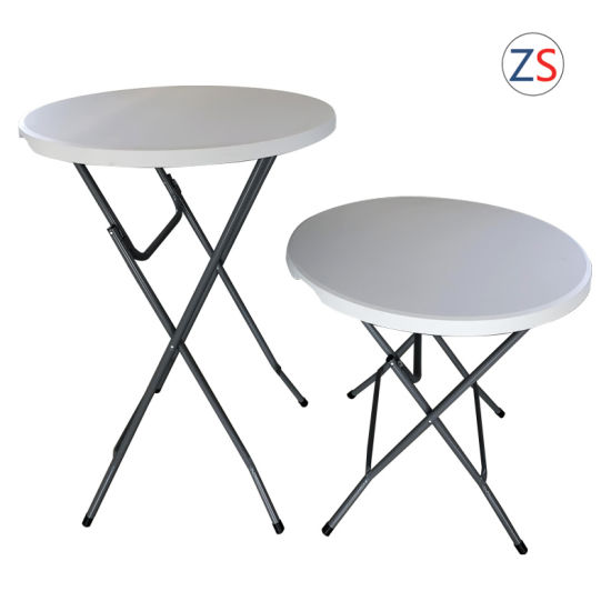 China 80cm Bar Folding Round Table for Indoor Outdoor