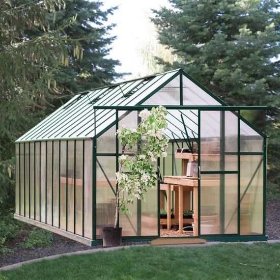 China 2020 Multi-Span Polycarbonate Sheet Green House with 4mm Hollow Transparent Polycarbonate Shee