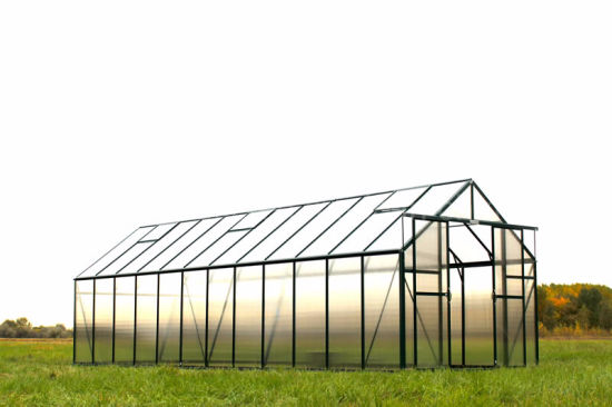 China 6mm Polycarbonate Sheet Green House for Vegebable Aluminum Frame Flower House