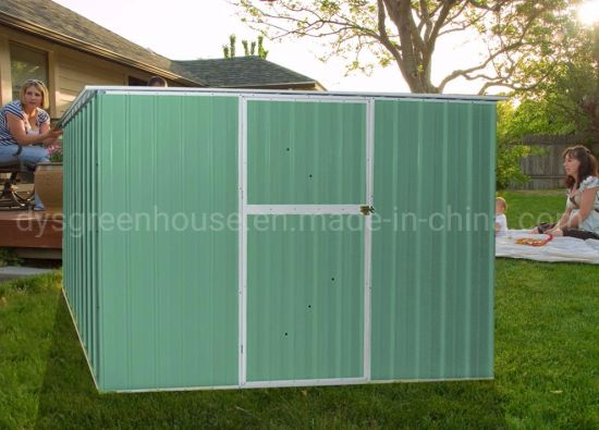 China Easily Assembled Waterproof Metal Garden Shed pictures & photos