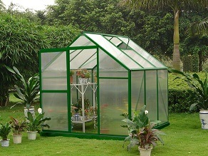 China Growell Good Quality Aluminium Vegetable Agricultural Garden Greenhouse
