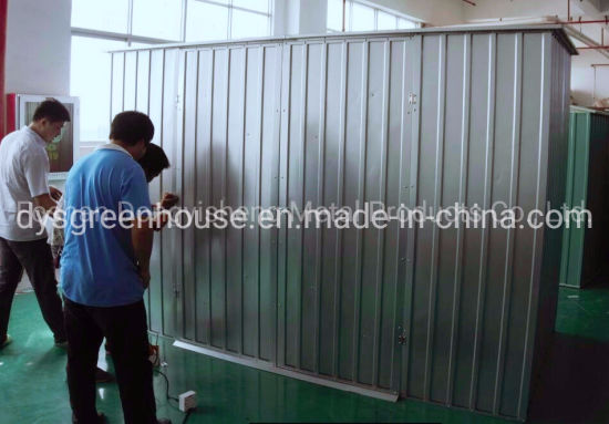 China High Performance Home Garden Easy Accemble Large Car Storage Steel Garden Shed pictures & photos