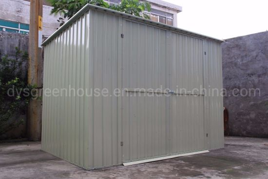 China High Performance Home Garden Easy Assemble Steel Storage Shed Garden Tools Metal Shed