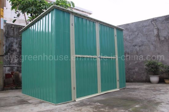 China Low Price Customized Metal Garden Shed for Outdoor Storage pictures & photos