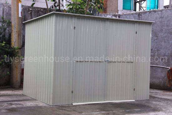 China Made in China Home Garden Used Prefabricated Metal Storage Shed Sale