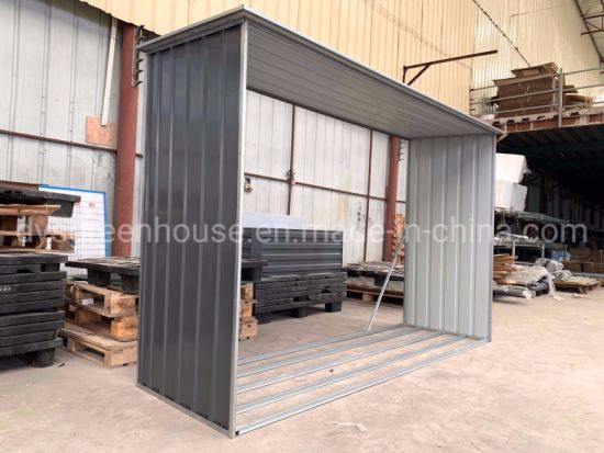 China Made in China Steel Metal Storage Wood Sheds