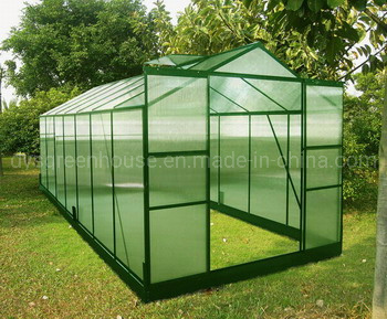 China Made-in-China Wholesale Alu Polycarbonate Greenhouse