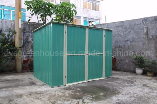 China Metal Prefab Chinese Garden Shed for Outdoor Use pictures & photos