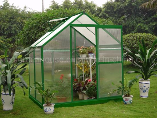 China New Products Aluminium Frame Polycarbonate Grow Tent Greenhouse Rdga0604-4mm