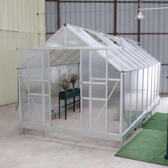 China Quality Assured Agriculture Commercial Plastic Multi Span Greenhouse