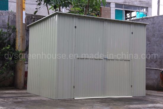 China Steel Outdoor Garden Storage Shed Tool Utility Backyard Lawn