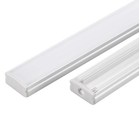 China LED Aluminium Channel Extrusion Profile 5050 LED Strip Lights