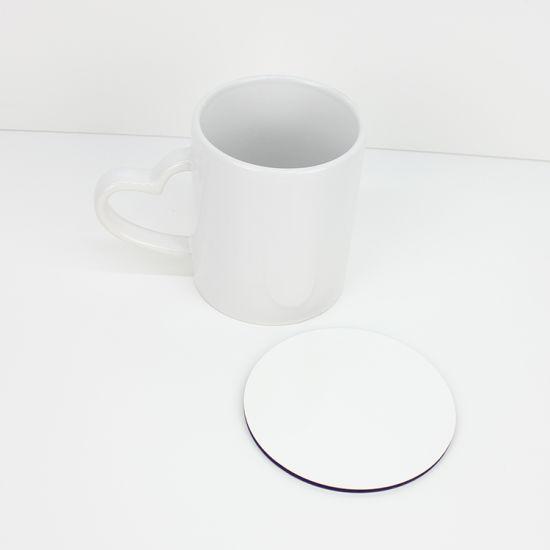 Tea Coaster  Drink Coaster Mat Tea Custom Coasters Set of 4 100mm Round