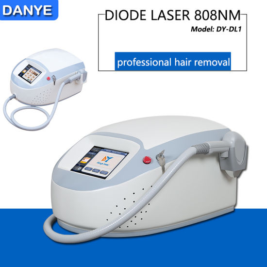 China Best Portable 808nm 810nm Diode Laser Machine For Hair