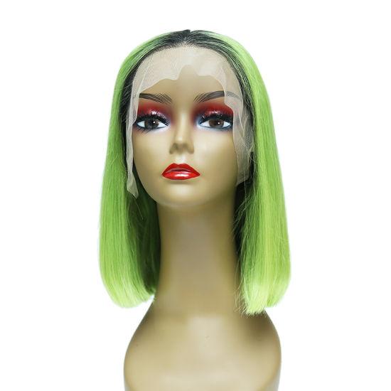 China Jualan Atas Rambut Perawan Manusia Rambut Pendek Lurus Bob Renda Depan Rambut Palsu Dari China Di Topchinasupplier Com