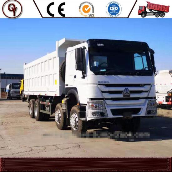 Used Sinotruk HOWO 375 HP 8X4 10 Wheels Dump Truck-Used