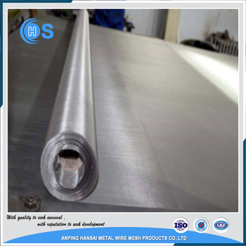 China 25micron Stainless Steel Wire Mesh Price List