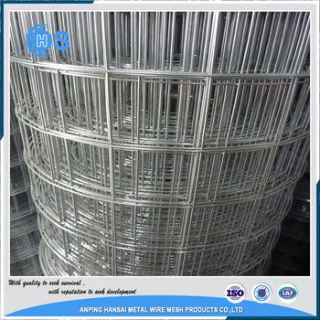 China Iron Wire Mesh 10 Gauge Galvanized Welded Wire Mesh