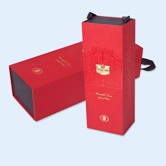 China Hard Paper Box Packing Box for Wine Package
