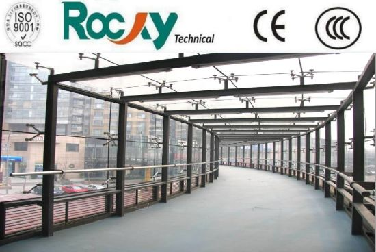 China Clear Tempered Laminated Building Glass for Sunroom Greenhouse