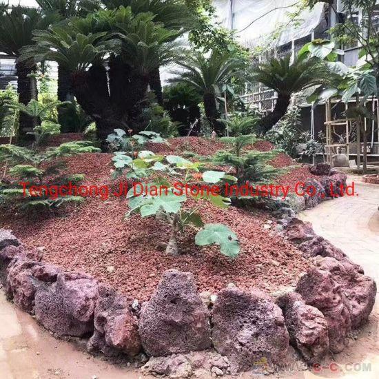 China Natural Volcanic Garden Rock Pumice Landscape Stones Basalt