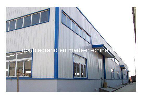 China Flexible Prefab Steel Frame Warehouse Construction