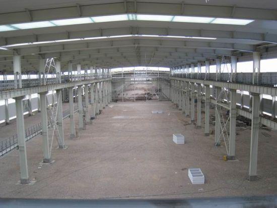 China Light Steel Structure Godown Storage Unit