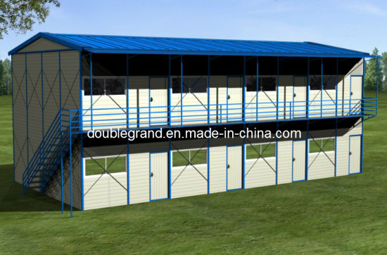 China Prefabricated House with Light Steel Frame