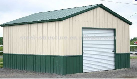 China Steel Garden Shed Poultry Shed Prefab Steel Shed pictures & photos