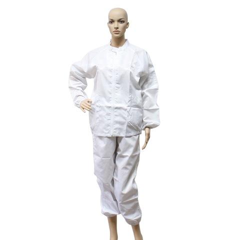 Abrigos antiestáticos Monos antiestáticos de trabajo de protección Ropa antiestática para salas limpias ESD
