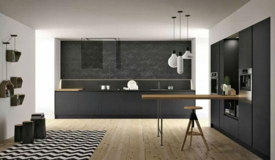 China High Gloss Lacquer Surface Finish Kitchen Cabinet Kitchen