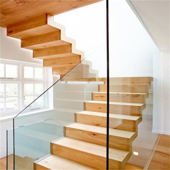 China Latest Design Modern Home Use Tempered Glass Railing ...