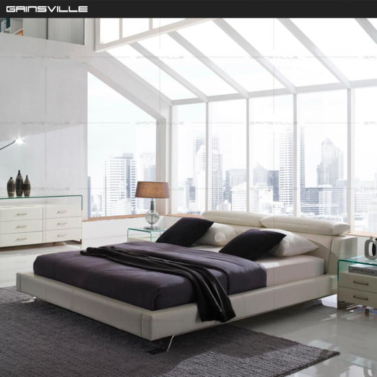 China Wholesale Soft King Bed Bedroom Furniture Modern Style