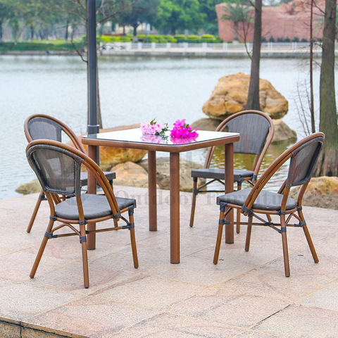Modern conversation contemporary coffee chairs furniture outdoor