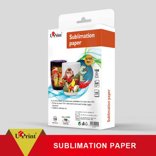 China 100GSM A4 Inkjet Printing Sublimation Sublimation Paper Roll