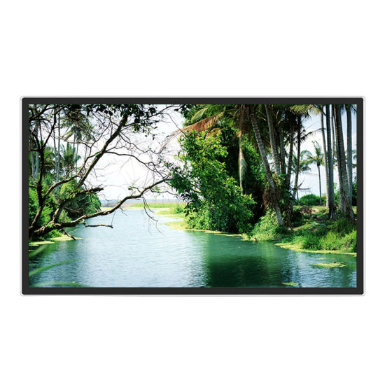 China 55inch Android Wall Mount LCD Display with WiFi