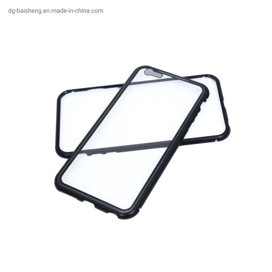 China CNC Magneto Tempered Glass + Metal Mobile Phone Case Mobile Phone Accessories